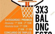 Hoy termina el plazo para participar en el Torneo 3x3 de Baloncesto