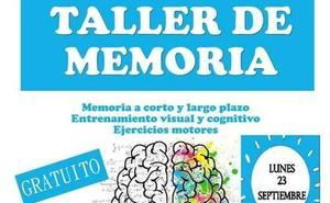 Vuelve el Taller de Memoria