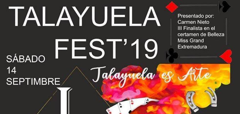 Los artistas locales protagonizan el I Festival de verano 'Talayuela Fest'19'