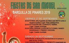 Barquilla celebra este fin de semana las Fiestas de San Miguel