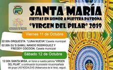 Actuaciones musicales, caballos y vaquilla, protagonistas de las próximas Fiestas de Santa María