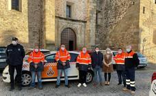 Un grupo de Protección Civil comienza a prestar servicio en la localidad