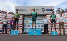 David Vizcaíno sube al pódium en la primera prueba la Copa de España de Ciclocross