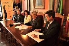 La ciudad es testigo de la integración de una cooperativa andaluza y otra portuguesa en la extremeña Bovies