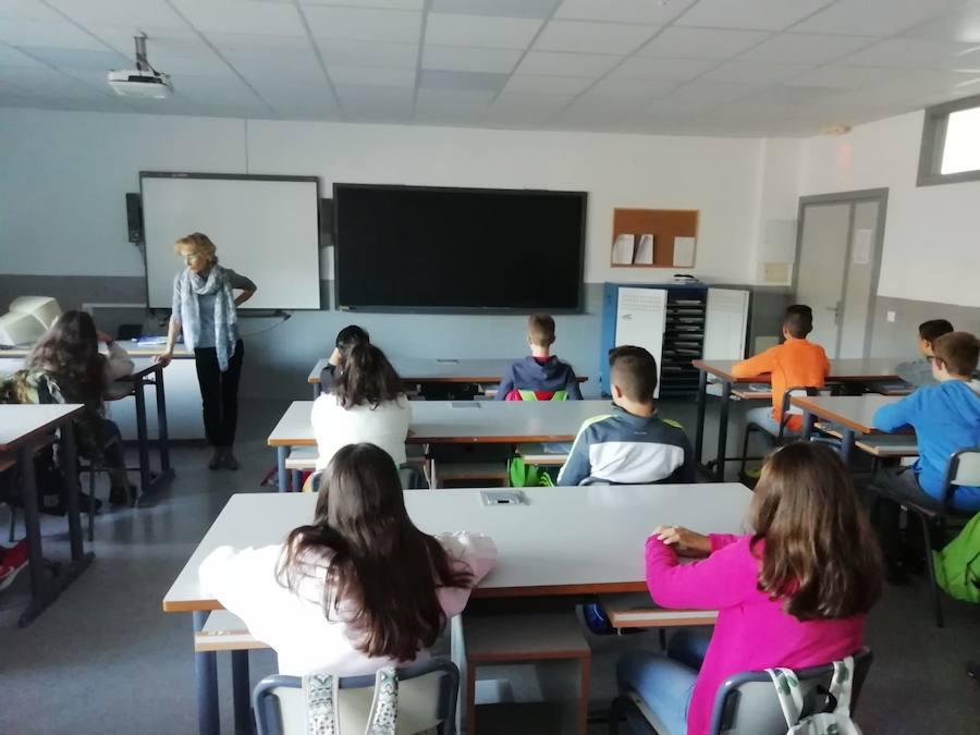 Sensibilización contra la violencia de género en centros educativos