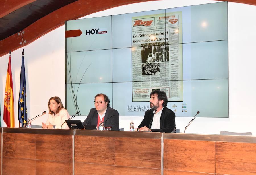 El diario Hoy inaugura la exposición 'Trujillo en portada'