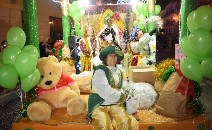 Cabalgata de Reyes, a su paso por Trujillo
