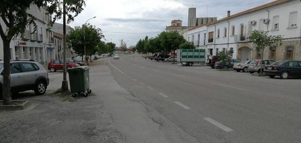La reforma de la avenida de Miajadas rondará los 400.000 euros