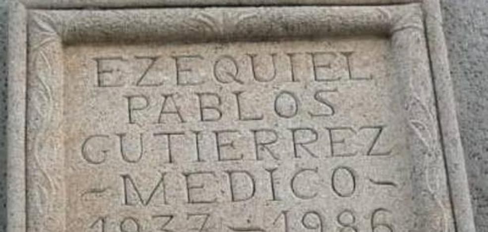Alberto Casero se opone a que se cambie el nombre de la calle de Ezequiel Pablos