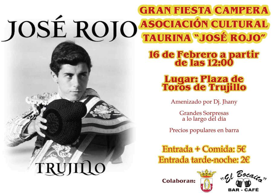 Fiesta campera de la Asociación Cultural Taurina José Rojo