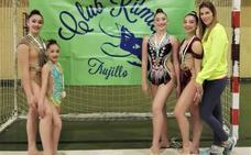 Cuatro campeonas regionales en gimnasia rítmica