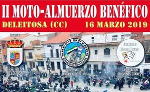 Deleitosa acogerá este sábado un encuentro motero solidario