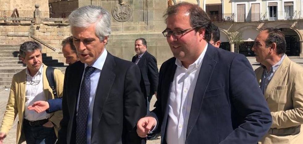 Alberto Casero no aclara si seguirá siendo candidato a alcalde