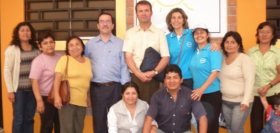Extremayuda repasa los proyectos vinculados con el Ayuntamiento y la Obra Pía de los Pizarro