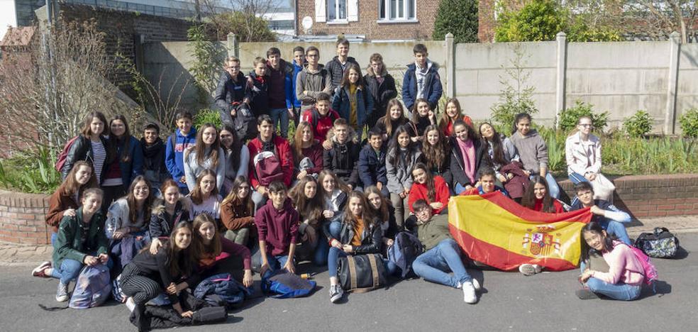 El colegio María de la Paz Orellana realiza un intercambio con un centro francés, con buenos resultados