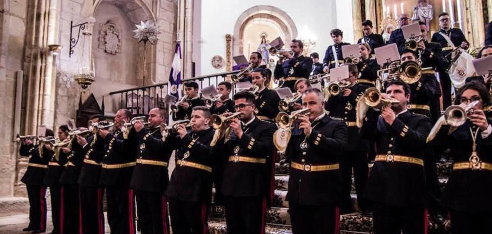 La banda de cornetas y tambores El Nazareno estrena 'Soledad Nazarena' en su certamen