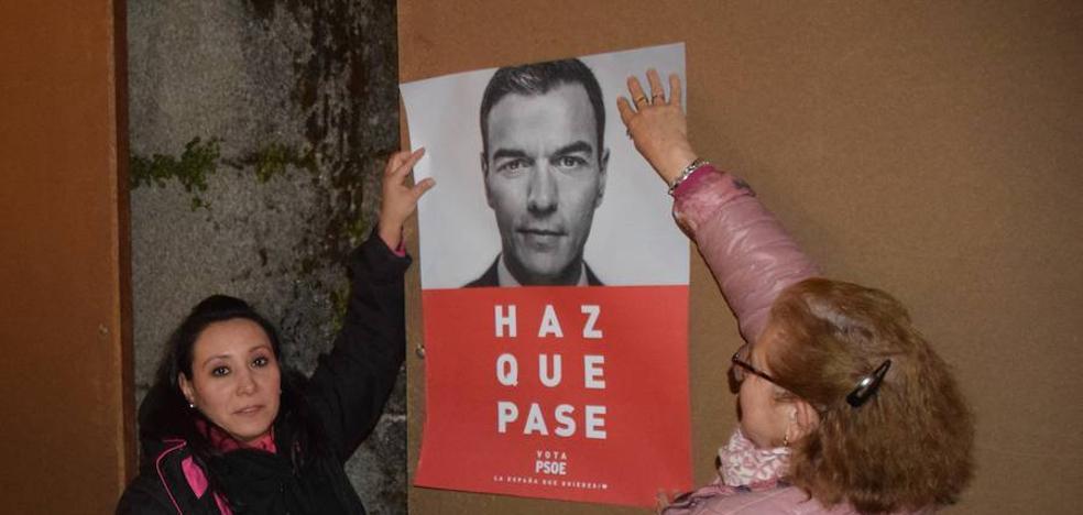 Los socialistas trujillanos inician la campaña electoral con ilusión «para crear una España mejor»