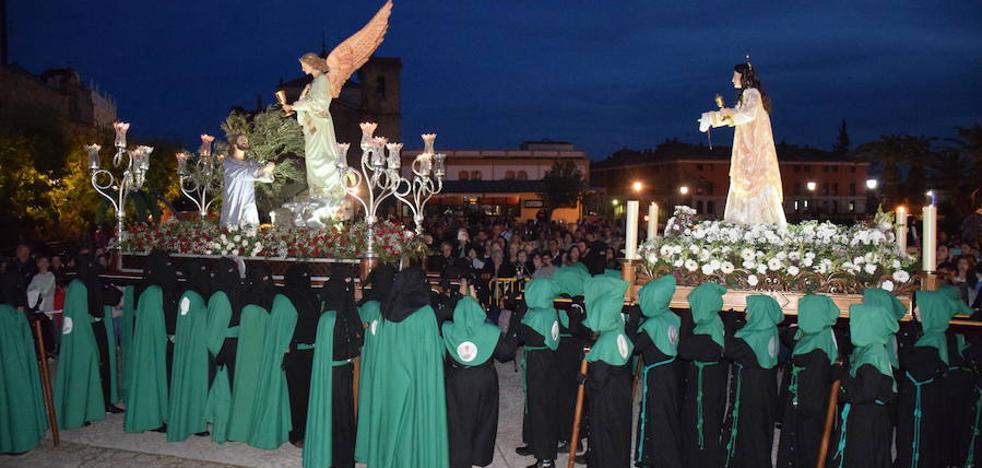 La Oración en el Huerto se unió a La Magdalena en el paseo Ruiz de Mendoza