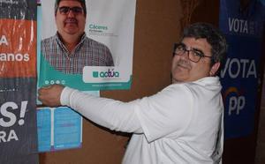 Joaquín Paredes, presente en los cuatro procesos electorales de abril y mayo