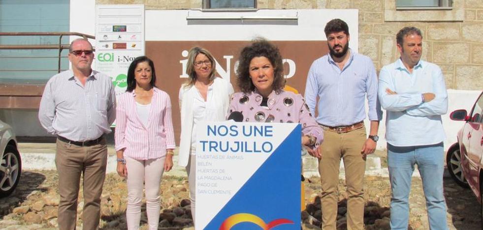 El PP quiere revitalizar las empresas y el empleo con 'Trujillo emplea', 'Trujillo Empresarial' y 'Trujillo te Ayuda'
