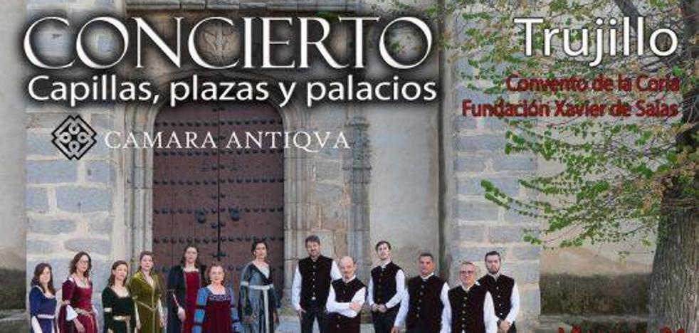 La Coria acoge hoy el concierto del grupo de música antigua 'Cámara Antiqva'