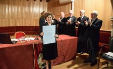 Lozano Bartolozzi toma posesión en la Academia extremeña, con sede en Trujillo, muy arropada