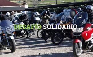Un desafío solidario reunirá a más de 70 moteros