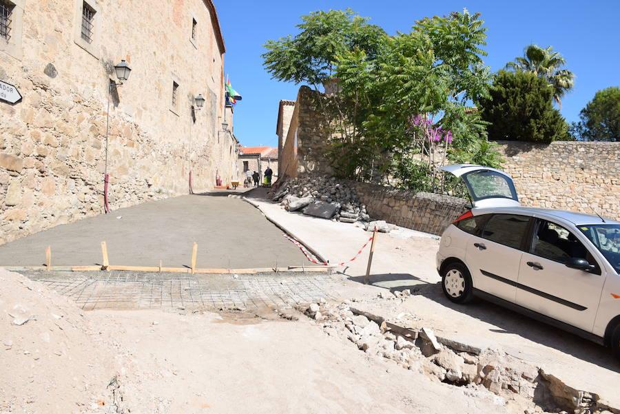 Quejas vecinales por la tardanza de las obras de Santa Clara y Santa Beatriz de Silva