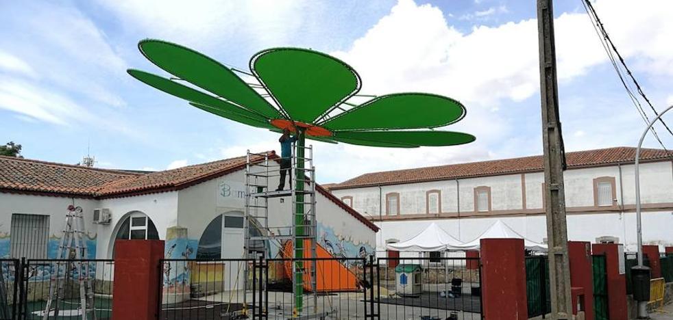 Nuevas mejoras en la escuela infantil Bambi de Trujillo