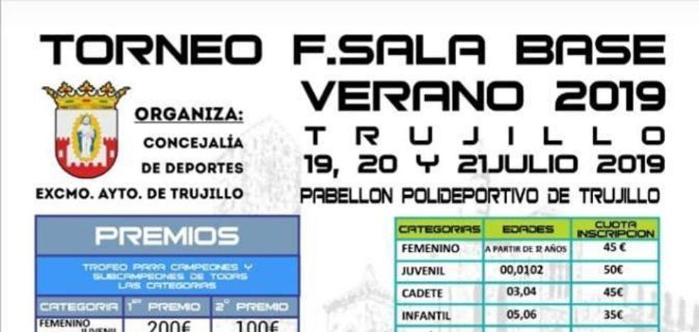 El torneo de fútbol sala base será los días 19, 20 y 21 de julio en Trujillo