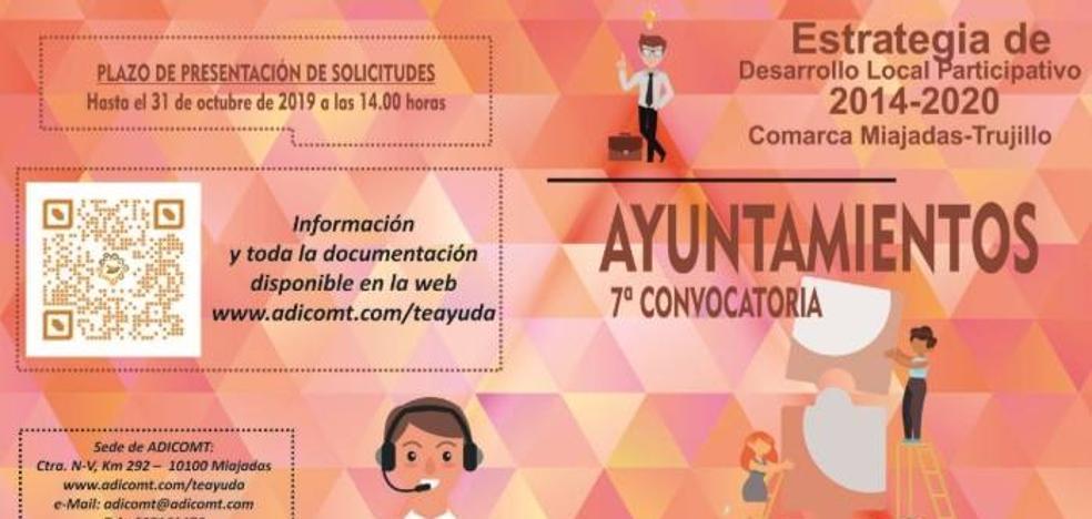 Adicomt abre una nueva línea de ayudas para los ayuntamientos