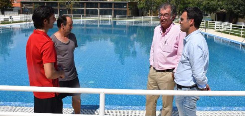 Obras maneja tres posibles causas de la pérdida de agua de la piscina de Trujillo