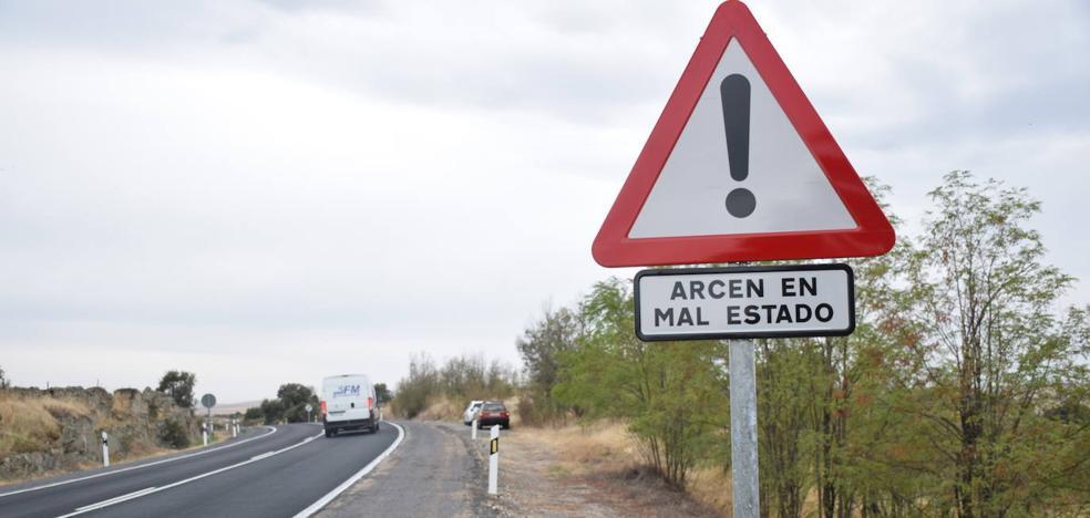 Fomento inicia este lunes la rehabilitación del firme en los arcenes de la N-5 al sur de Trujillo