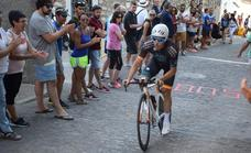 La ciudad recupera su tradicional prueba ciclista 'Subida al castillo'