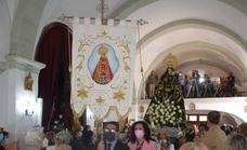 Huertas de Ánimas sacará mañana en procesión a la patrona, la Virgen del Rosario