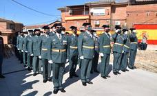 La Guardia Civil celebra de nuevo su tradicional fiesta, con limitación de invitados por culpa de la pandemia