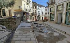 Las obras en la zona centro, iniciadas en mayo, acumulan retraso