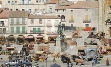 'La casa del dragón' cierra la plaza Mayor
