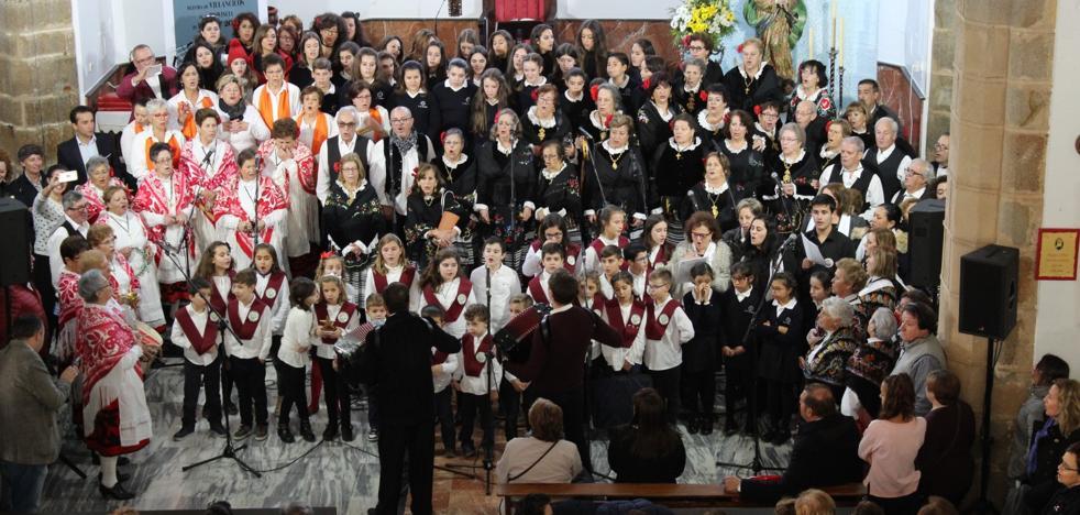 La parroquia acoge la XXXVI Muestra de Villancicos de la Diputación