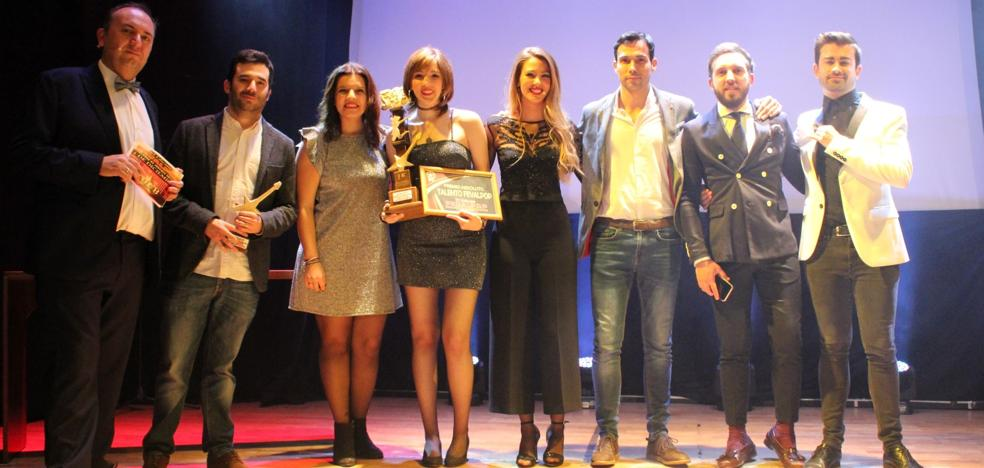 Conchi Mendo, ganadora del Concurso de Jóvenes Talentos Fevalpo 2018