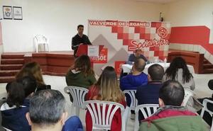 El PSOE celebra un acto público para afiliados, simpatizantes y valverdeños