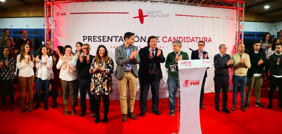 Medio millar de personas apoyan a Manolo Borrego como candidato a la alcaldía de Valverde de Leganés