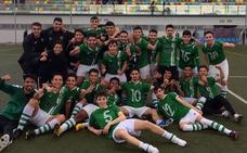 Los juveniles del Racing Valverdeño, campeones de liga