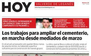 Este sábado se publica el número 91 de HOY Valverde de Leganés