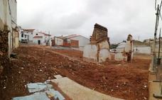 Derribadas las viviendas de la calle Bóvedas para hacer un Centro de Interpretación