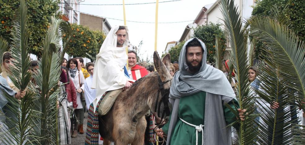 La Semana Santa Valverdeña se inicia con el Domingo de Ramos