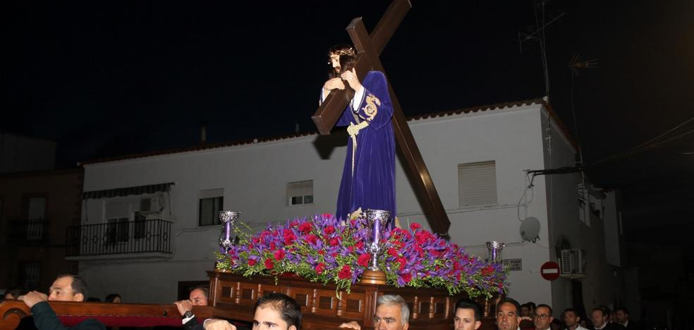 Este miércoles, procesión del Nazareno