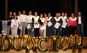 El IES 'Campos de San Roque' celebra su XVI graduación