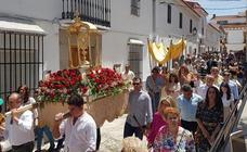 Valverde de Leganés celebra el Corpus Christi