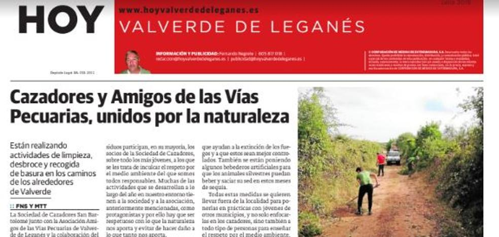 Este miércoles sale la edición 94 de HOY Valverde de Leganés